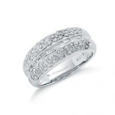 9ct 0.75ct Diamond Eternity Ring