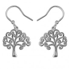 Tree of Life Drop Earrings
