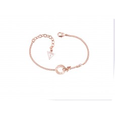 GUESS Around The World Rose Gold Bracelet