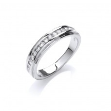 18ct 0.25ct Diamond Eternity Ring
