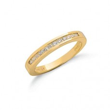 9ct 0.25ct Diamond Eternity Ring