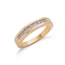 9ct 0.35ct Diamond Eternity Ring