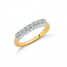 9ct 0.20ct Diamond Eternity Ring