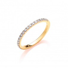 9ct 0.27ct Diamond Eternity Ring