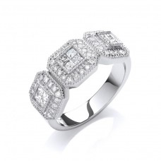 9ct 0.70ct Diamond Eternity Ring