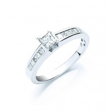 18ct 0.50ct Diamond Engagement Ring