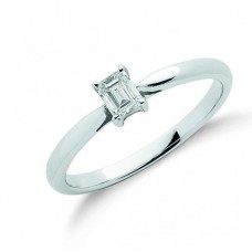 18ct 0.25ct Diamond Engagement Ring