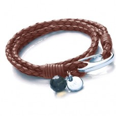 Ladies Brown Wrap Around Bracelet