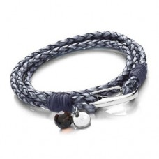 Ladies Denim Blue Wrap Around Bracelet