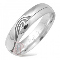 6 mm Pattern LE89 Wedding Ring