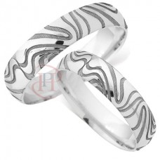 6 mm Pattern LE84 Wedding Ring