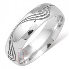 6 mm Pattern LE88 Wedding Ring