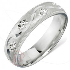 4 mm Pattern 5602 Wedding Ring