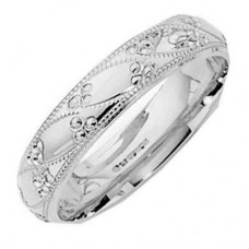 4 mm Pattern 5192 Wedding Ring