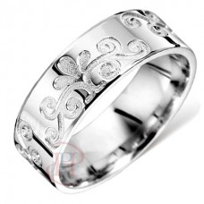 6 mm Pattern G1022 Wedding Ring