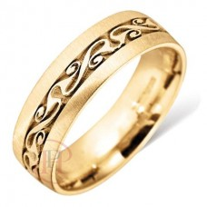 6 mm Celtic LE10 Wedding Ring