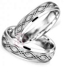6 mm Celtic LE27 Wedding Ring