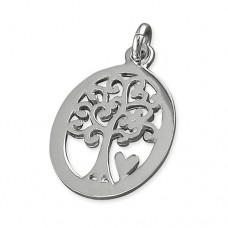 Tree of Life & Heart Pendant