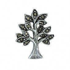 Marcasite Tree of Life Pendant